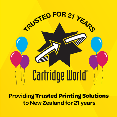 Cartridge World Celebrates 21 Years in New Zealand