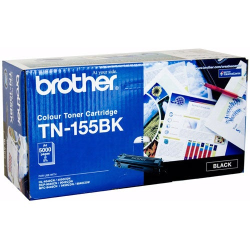 BROTHER TN155 Black High Capacity Toner OEM