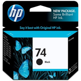 HP74B  CB335W Black OEM