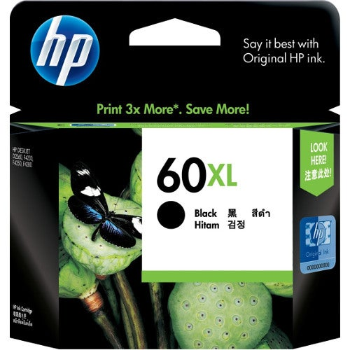 HP60XLB CC641WA Black Extra Large OEM