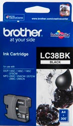 BROTHER LC38 Black OEM