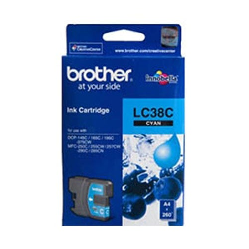 BROTHER LC38 Cyan OEM
