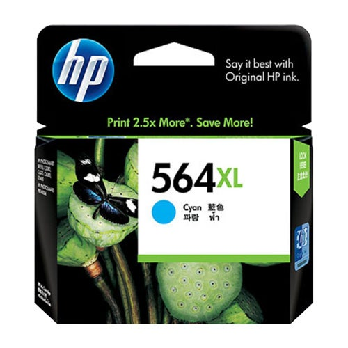 HP564XLC CB323WA Cyan Extra Large OEM