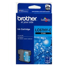 BROTHER LC67HY Cyan Extra Large OEM