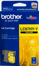 BROTHER LC67HY Yellow Extra Large OEM