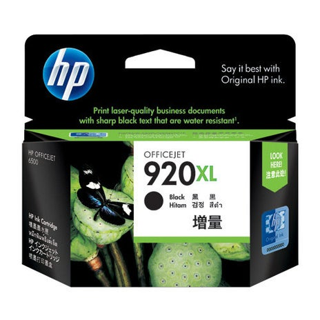 HP920XLB CD975AA Black Extra Large OEM