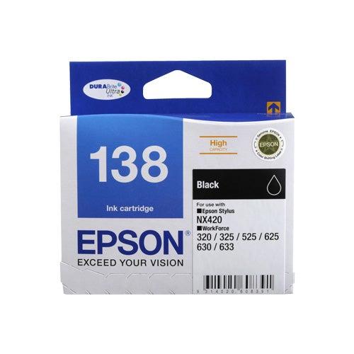 EPSON T138 Black Extra Large OEM