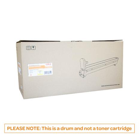 OKI C610 Yellow Drum