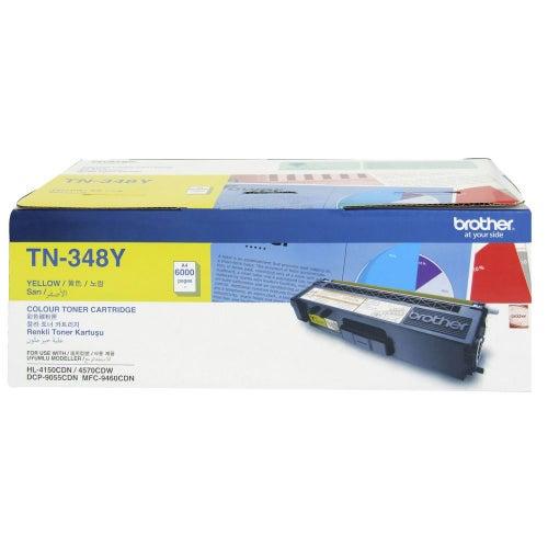 BROTHER TN348 Yellow  Toner OEM