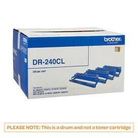 BROTHER DR240 Black & 3 Colour Drums