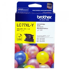 BROTHER LC77XL Yellow Extra Large OEM