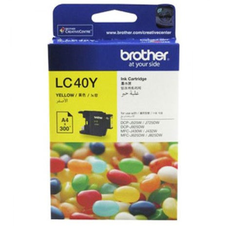 BROTHER LC40 Yellow OEM