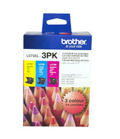 BROTHER LC73 Colour 3 Pack OEM