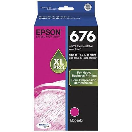 EPSON 676XL Magenta Ink Extra Large OEM