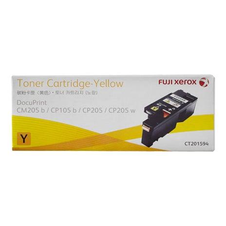 FUJI XEROX CT201594 CM/CP205 Yellow Toner OEM
