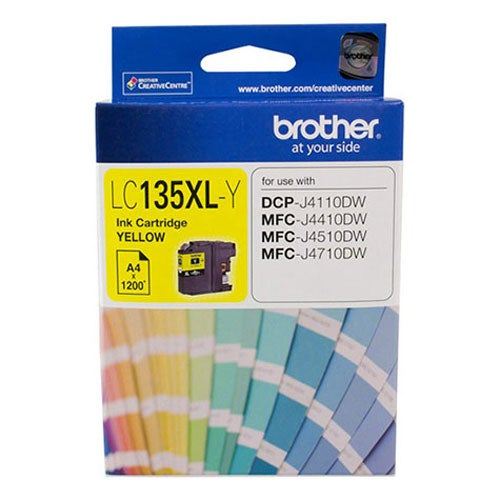 BROTHER LC135XL Yellow Extra Large OEM