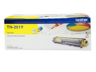 TN251Y Yellow Toner Low Yield