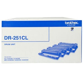 BROTHER DR251CL 1 Each of BK-C-M-Y