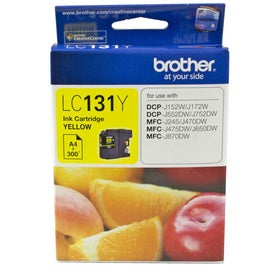 BROTHER LC131Y Yellow OEM