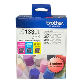 BROTHER LC133 Colour Triple Pack OEM