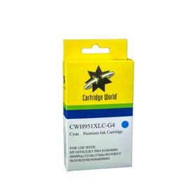 CW Brand 951XLC CN046AA Cyan Extra Large