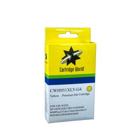 CW Brand 951XLY CN048AA Yellow Extra Large