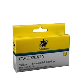 CW Brand 920XLY CD974AA Yellow Extra Large