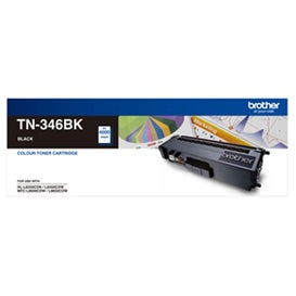 BROTHER TN346 Black High Capacity OEM