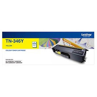 TN346 Yellow Toner High Capacity
