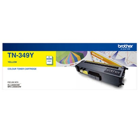 BROTHER TN349 Yellow Extra High Capacity OEM