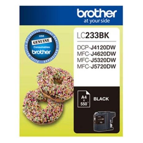 BROTHER LC233 Black  OEM