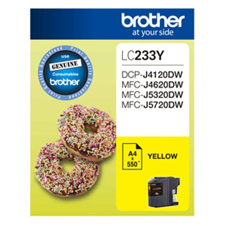 BROTHER LC233 Yellow  OEM