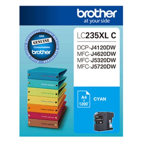 BROTHER LC235XL Cyan Extra Large OEM