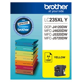 BROTHER LC235XL Yellow Extra Large OEM