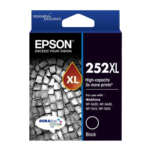 EPSON T252XL Black Extra Large OEM