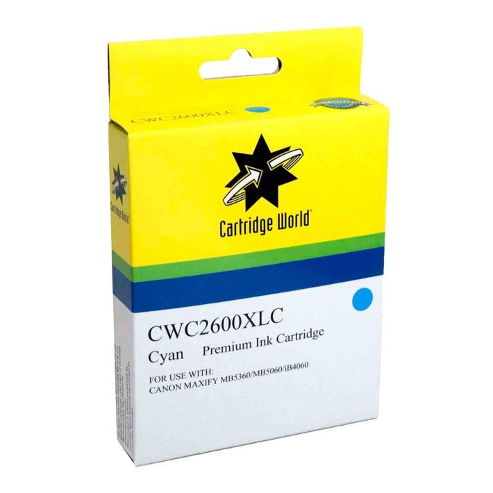 CW Brand PGI2600XLC Cyan Extra Large