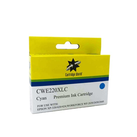 CW Brand 220XL Cyan Extra Large