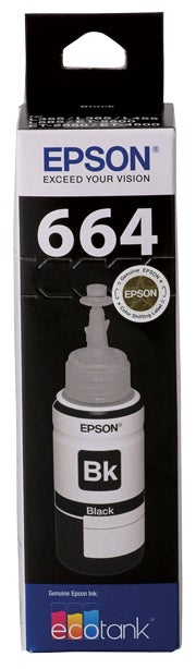 EPSON T6641 Black Ink Bottle