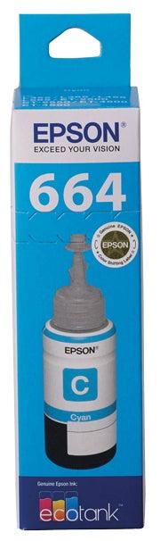 EPSON T6642 Cyan Ink Bottle