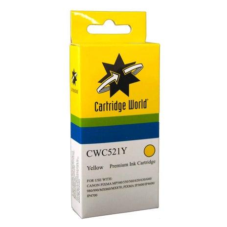 CW Brand CLI521 Yellow