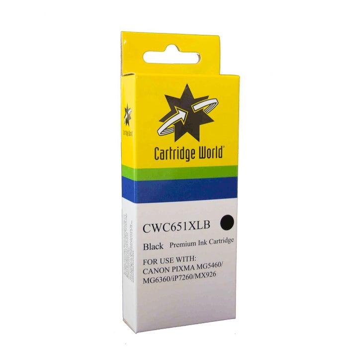 CW Brand CLI651XL Black Extra Large