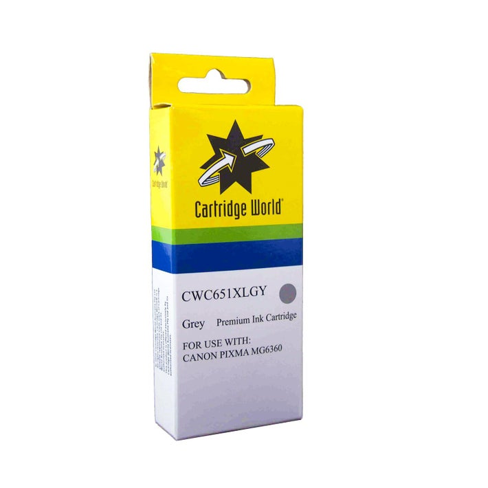 CW Brand CLI651XL Grey Extra Large