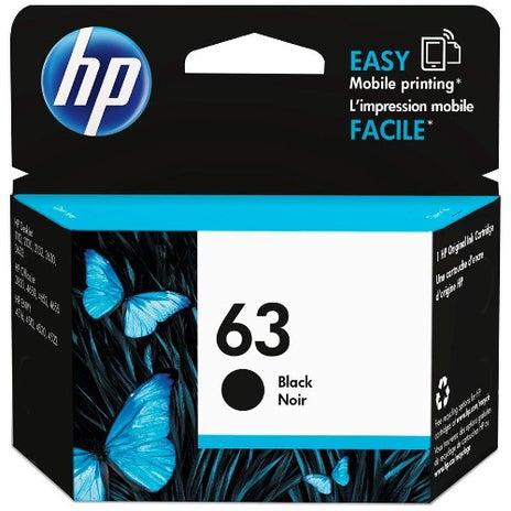 HP63B F6U62AA Black  OEM