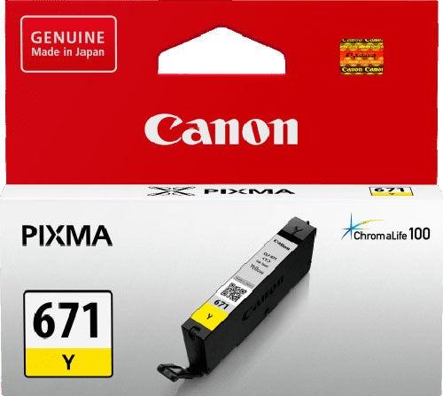 CANON CLI671 Yellow Standard Capacity OEM