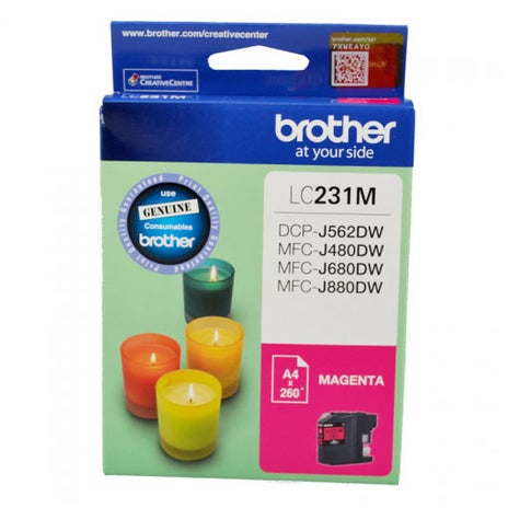 BROTHER LC231 Magenta  OEM