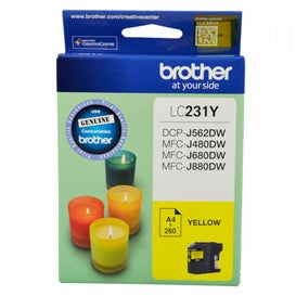 BROTHER LC231 Yellow  OEM