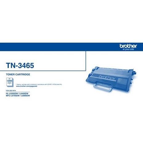 BROTHER TN3465 Extra High Capacity Toner OEM