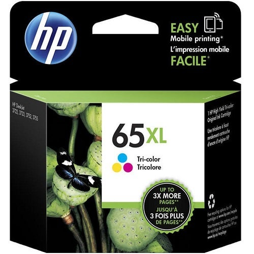 HP65XLC N9K03AA Tri- Colour Extra Large OEM