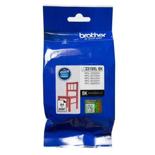 BROTHER LC3319XL Black Extra Large  OEM