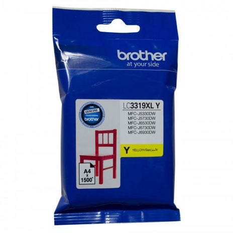 BROTHER LC3319XL Yellow Extra Large  OEM